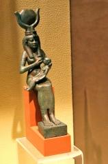 Isis nursing Horus. Penn Museum. Photo by Jocelyn Dale, Flickr (CC)