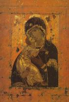 Early Byzantine icon of Mary