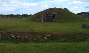 Burial mound on Anglesea