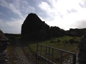 Ruined church on Dursey Island