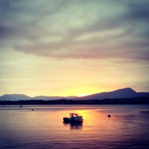 Sunset over Bantry Bay