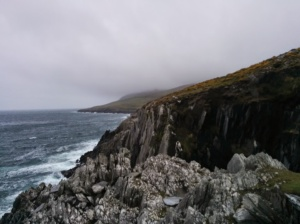 The cliffs of Inis Baoi.