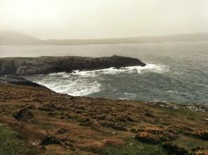 The shores of Oileán Baoi, island of the goddess now known as Cailleach Bhearra